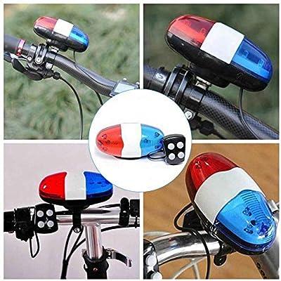 ROMORAR Timbre Ticicletas 2019 Accesorios de Bicicleta 6 LED 4 ...