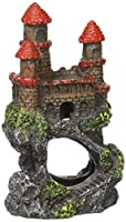 Pen-Plax RRW5B Mini Magical Castles Aquarium Ornament, 4