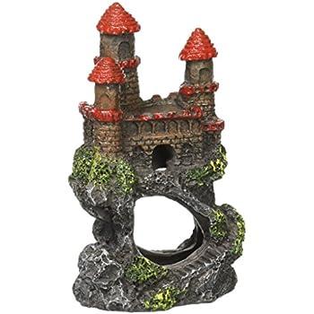 """Pen-Plax RRW5B Mini Magical Castles Aquarium Ornament, 4"""""""