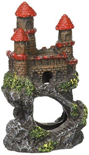 (Pen-Plax RRW5B Mini Magical Castles Aquarium Ornament, 4