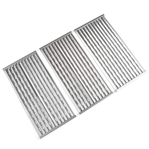 (Grill Valueparts Stainless Steel Cooking Grates for Charbroil 463242716, 463242715, 466242715, 466242815, 463276016, G533-2200-W1, Lowes # 606682, Walmart # 555179228-17 3/16 X 30 Emitter Plate)