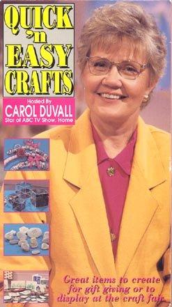 Amazon com: Quick 'n Easy Crafts: Carol Duvall, Ernest Schultz