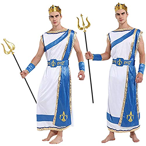 4Home Men's Greek God Halloween Costume - Size