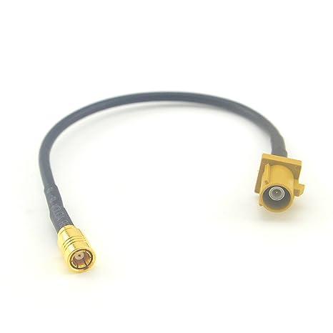 Cable de Extensión de Cable de Extensión gsm Antena RF Cable Coaxial Fakra K Macho a