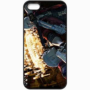 Personalized iPhone 5 5S Cell phone Case/Cover Skin Devil May Cry 4 Black by icecream design