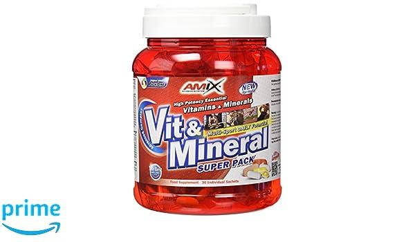 Amix Vitamins & Minerals, Complemento Alimenticio, 500 g: Amazon.es: Salud y cuidado personal