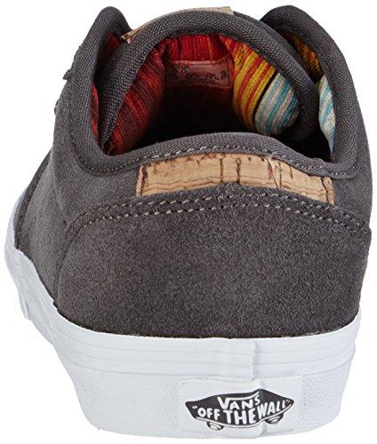 Vans VansY Atwood Deluxe Suede - Zapatillas Niños^Niñas gris - Grau ((Suede) pewter/blanket)