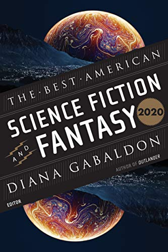 Book Cover: The Best American Science Fiction and Fantasy 2020