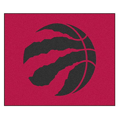 FANMATS 19478 NBA - Toronto Raptors Tailgater Rug , Team Color, 59.5''x71'' by Fanmats