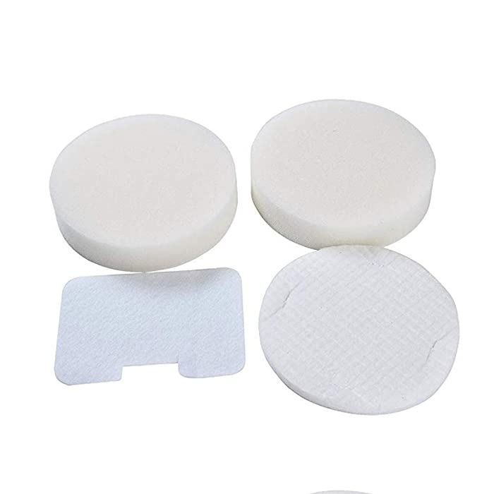 Ximoon Foam and Felt Filter Kit for Shark Navigator NV22 NV22L NV26 NV100 NV36 UV410 Vacuums, Shark Part XF22