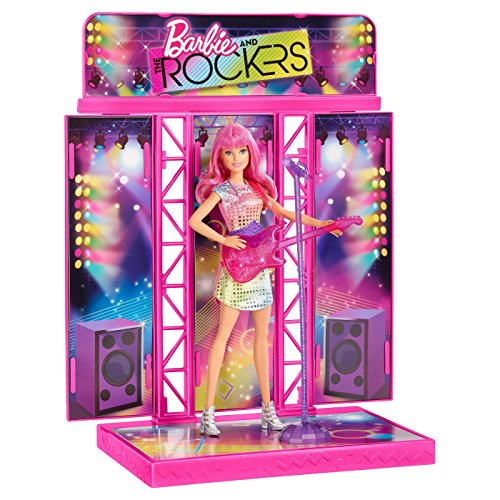 Rocker Barbie - Barbie and rockers concert stage - fully furnished