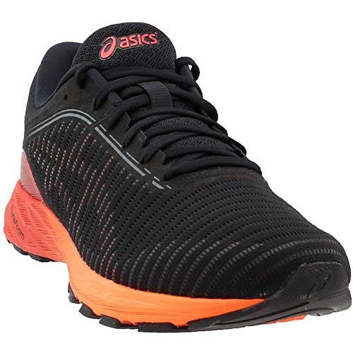 ASICS Men's Dynaflyte 2 Black/Fiery Red/Orange 12 D US