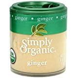 Simply Organic Ginger 0.42 oz (Pack of 6) WLM