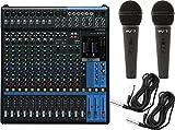 Yamaha MG16XU 16-Input 6-Bus Mixer w/ Compression, Effects, USB,...