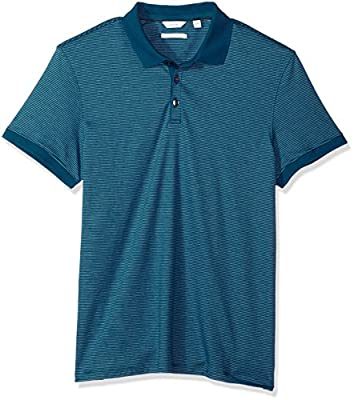 Calvin Klein Men's Cotton Liquid Touch Polo Shirt