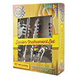 Set of 3 Music 1. Clarinet 2. Saxophone 3. Trumpet, Combo with over 10 Color Coded Teaching Songs Made in