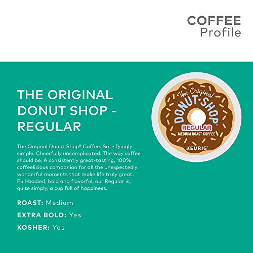 The Original Donut Shop Keurig Single-Serve K-Cup Pods, Regular Medium Roast Coffee, 72 Count by The Original Donut Shop (Image #4)