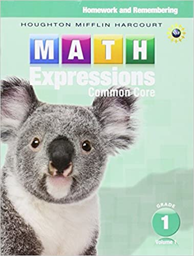 Math expressions homework remembering volume 1 grade 1 houghton math expressions homework remembering volume 1 grade 1 1st edition by houghton mifflin fandeluxe Image collections