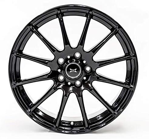 GOODRIDE (グッドライド) スタッドレスタイヤ ホイールセット 215/50R17 SW618 + 17×7.0J +53 5/114.3 ブラック 4本セット 2019年製
