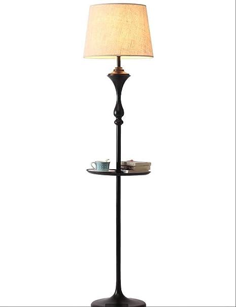 HOQTUM Lámparas de pie para Leer Lámpara de pie con Hierro