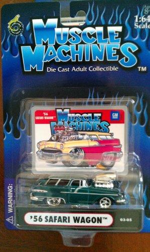 Wagon Safari - Muscle Machines 56 Safari Wagon kelly green 03-05
