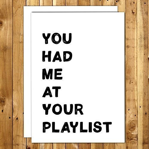 amazon com girlfriend gifts 031 you had me at your playlist love