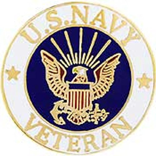US Navy Veteran Pin