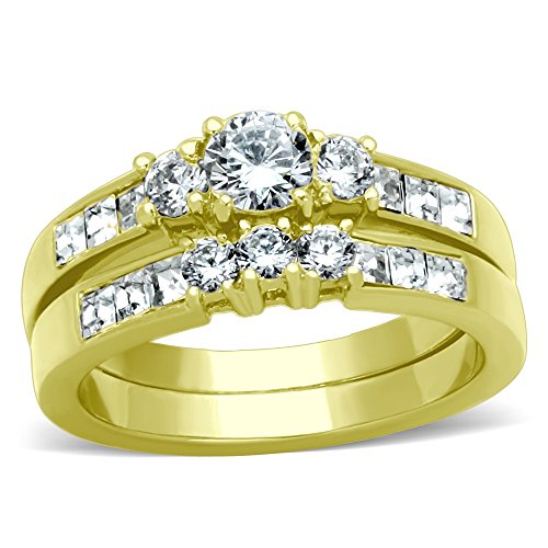 The 8 best wedding ring sets for him and her gold