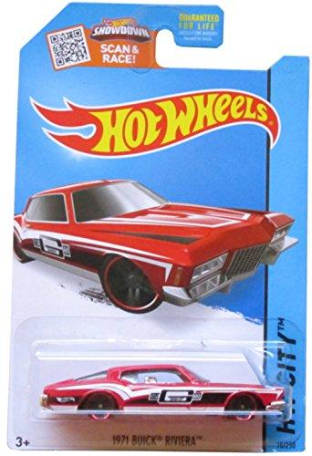 Hot Wheels, 2015 HW City, 1971 Buick Riviera [Red] Die-Cast Vehicle (Buick Riviera Trunk Motors)