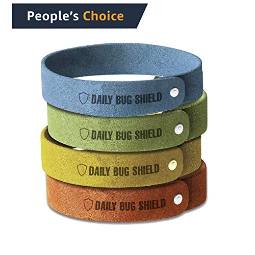 Industry Power Mosquito Repellent Bracelet 12 Pack 2880 Hours 100% All Natural Oil Non-Toxic Waterproof Safe for Kids, Toddlers, Babies and Pets Keep Pests Away [Upgraded Version]