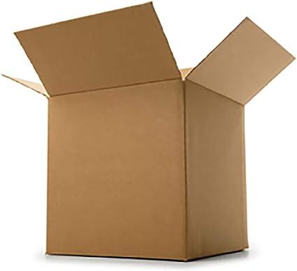 Caja de cartón con solapa 600x600x600mm de extracción marrón para ...