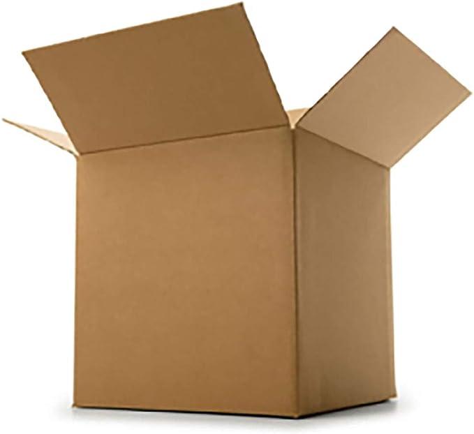 Caja de cartón con solapa 600x600x600mm de extracción marrón para documentos fuerte Paquete Caja de cartón de 3 capas (8): Amazon.es: Oficina y papelería