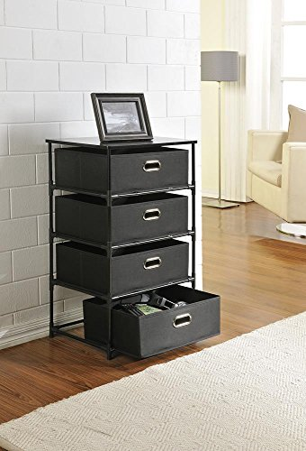 altra-sidney-4-drawer-end-table-black