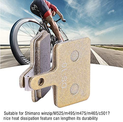 自転車ブレーキパッド ディスクブレーキパッド 軽量 耐久性 熱放散 安全 自転車修理交換用 サイクリングアクセサリー用