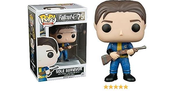 Funko POP! Fallout 4: Sole Survivor - Video Game Vinyl Figure 75 ...