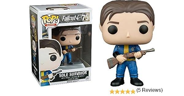 Funko POP! Fallout 4: Sole Survivor - Video Game Vinyl Figure 75 NEW: Amazon.es: Juguetes y juegos