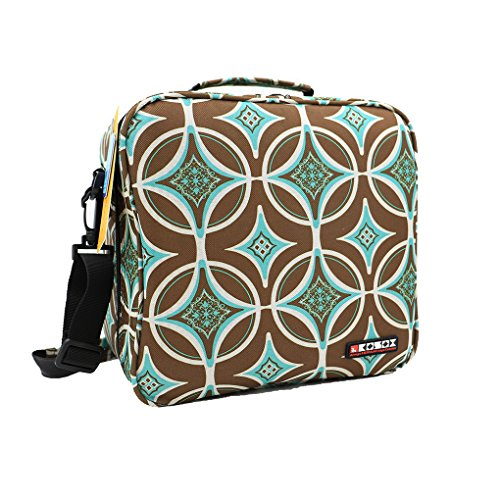 kosox-oxford-square-insulated-lunch-tote-bag-picnic-cooler-bag-with-shoulder-strap-unisex-lunch-bag-