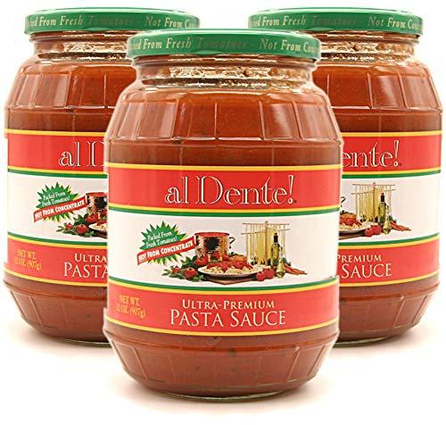 al Dente!, Stanislaus Ultra Premium Pasta Sauce, 32 oz (Pack of 3) ()