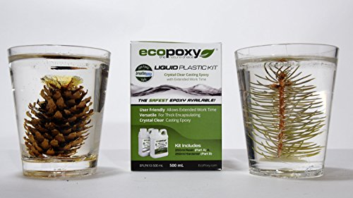 Ecopoxy Liquid Plastic Kits (500 ML) by Ecopoxy (Image #3)
