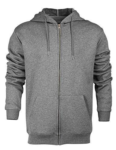 Zipper Hooded Fleece - 3