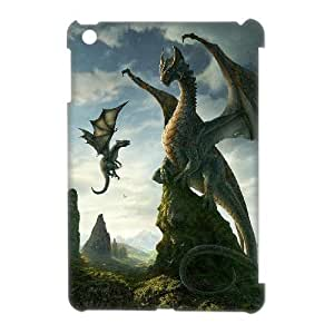 3D Case Of Dragon 3D Bumper Plastic Customized Case For iPad Mini