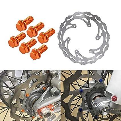 2006-2016 KTM 250 XCF-W Front Brake Pads /& Front Brake Rotor Disc