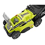 "Ryobi RY40180 40V Brushless Lithium-Ion Cordless Electric Mower Kit, with 5.0Ah Battery, 19.88"" x 40.748"" x 22.677"""