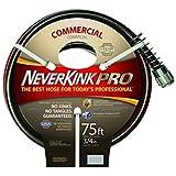 Neverkink 9844-75 Series 4000 Commercial Duty Pro Garden Hose, 3/4-Inch by 75-Feet