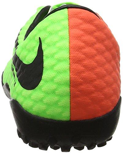 Green NIKE Botas para TF fútbol Hombre Volt Hypervenomx Black Verde de III Hyper Electric Orange Phelon ffqPr4F