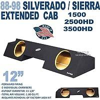 88-98 Chevy Silverado & GMC Sierra Extended Cab 12 Sub Box Sub woofer Enclosure