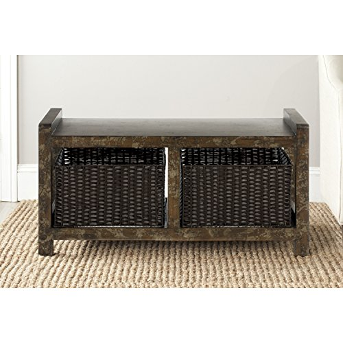 Safavieh American Home Collection Arnold Dark Brown Console Table