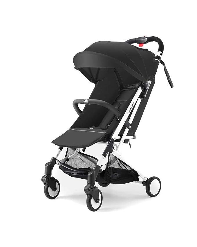 QZX Cochecito de bebé Cochecito de bebé Plegable Cochecito de bebé Cochecito de Viaje para niños de 0 a 36 Meses de Colores Diferentes,Black: Amazon.es: ...