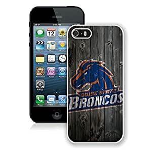 NCAA Mountain West Conference MWC Football Boise State Broncos White Case For HTC One M7 Cover Genuine Custom Cover