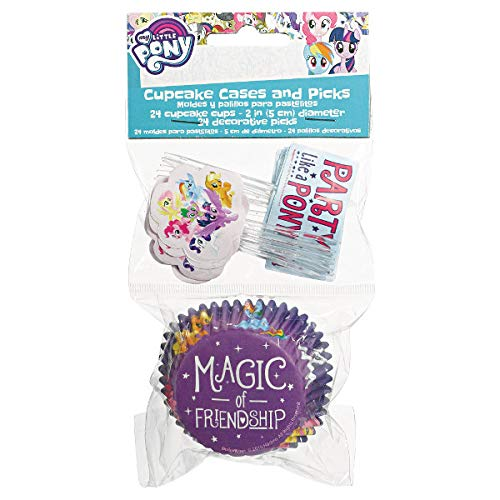 My Little Pony Friendship Adventures™ Cupcake Cases and Picks Combo Pack ()